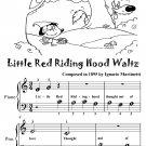 Little Red Riding Hood Waltz Beginner Piano Sheet Music Tadpole Edition PDF