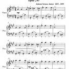 Citizen Spirit Waltz Opus 295 Easiest Piano Sheet Music Tadpole Edition PDF
