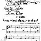 Musette Anna Magdalena Notebook Beginner Piano Sheet Music Tadpole Edition PDF