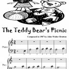 Teddy Bear's Picnic Beginner Piano Sheet Music Tadpole Edition PDF