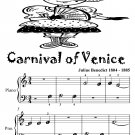 Carnival of Venice Beginner Piano Sheet Music Tadpole Edition PDF