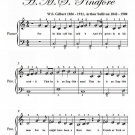 For He Is a Gentleman Easiest Piano Sheet Music PDF