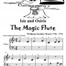 Isis and Osiris the Magic Flute Beginner Piano Sheet Music Tadpole Edition PDF