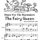 Dance for the Haymakers the Fairy Queen Beginner Piano Sheet Music Tadpole Edition PDF