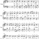 King of Love My Shepherd Is Easy Piano Sheet Music PDF