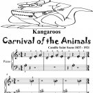 Kangaroos Carnival of the Animals Beginner Piano Sheet Music Tadpole Edition PDF