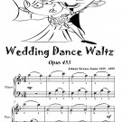 Wedding Dance Waltz Opus 453 Easiest Piano Sheet Music Tadpole Edition Pdf