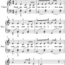 Rock My Soul Easy Piano Sheet Music PDF