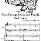 From Foreign Lands and People Kinderszenen Beginner Piano Sheet Music Tadpole Edition PDF