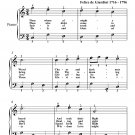 Thou Whose Almighty Word Easy Piano Sheet Music PDF