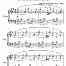 From Foreign Lands and People Kinderscenen Easy Piano Sheet Music PDF