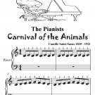 Pianists Carnival of the Animals Beginner Piano Sheet Music Tadpole Edition PDF