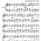 Valse Bleue Easy Piano Sheet Music PDF
