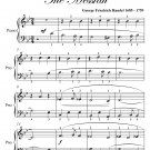 How Beautiful Are Thy Feet Easy Piano Sheet Music LIST PRICE PDF