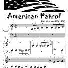 American Patrol Beginner Piano Sheet Music Tadpole Edition PDF