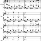 Lavender's Blue Beginner Piano Sheet Music PDF