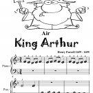 Air King Arthur Beginner Piano Sheet Music Tadpole Edition PDF