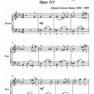 Illustrations Waltz Opus 331 Easy Piano Sheet Music PDF