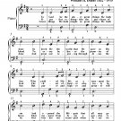 To God Be the Glory Easy Piano Sheet Music PDF