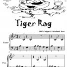 Tiger Rag Beginner Piano Sheet Music Tadpole Edition PDF