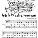 The Irish Washerwoman Beginner Piano sheet Music Tadpole Edition PDF