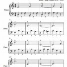 Queen of the Sea Waltz Easiest Piano Sheet Music PDF