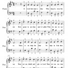 O Lord How Many They Who Deeply Trouble Me Easy Piano Sheet Music PDF