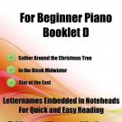 A Tiny Christmas for Beginner Piano Booklet D PDF