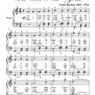 Streets of New York Easy Piano Sheet Music PDF