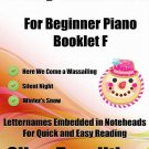 A Tiny Christmas for Beginner Piano Booklet F PDF