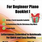 A Tiny Christmas for Beginner Piano Booklet I PDF
