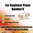 A Tiny Christmas for Beginner Piano Booklet K PDF