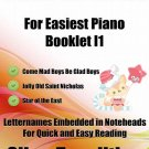 Petite Christmas for Easiest Piano Booklet I1 PDF