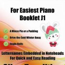 Petite Christmas for Easiest Piano Booklet J1 PDF