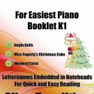 Petite Christmas for Easiest Piano Booklet K1 PDF