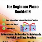 A Tiny Christmas for Beginner Piano Booklet N
