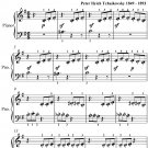 The Witch Opus 39 Number 20 Beginner Piano Sheet Music PDF