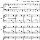 Vibration Waltz Opus 204 Easiest Piano Sheet Music PDF