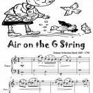 Air on the G String Easiest Piano Sheet Music Tadpole Edition PDF
