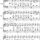 Meet Me In St Louis Louis Easy Piano Sheet Music PDF