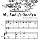 My Lady's Garden Beginner Piano Sheet Music Tadpole Edition PDF