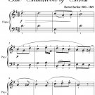 Shepherd's Farewell the Childhood of Christ Easy Piano Sheet Music PDF