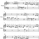 Dixie Blossoms Rag Beginner Piano Sheet Music PDF