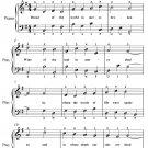 Bread of the World in Mercy Broken Easy Piano Sheet Music PDF