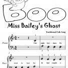 Miss Baileys Ghost Beginner Piano Sheet Music Tadpole Edition PDF