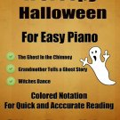 A Creepy Halloween Kullak Solos for Easy Piano with Colored Notes