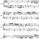 Bolero Easy Piano Sheet Music