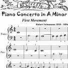 Piano Concerto In A Minor 1st Mvt Beginner Piano Sheet Music