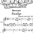 Berceuse Jocelyn Beginner Piano Sheet Music
