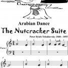 Arabian Dance the Nutcracker Suite Beginner Piano Sheet Music